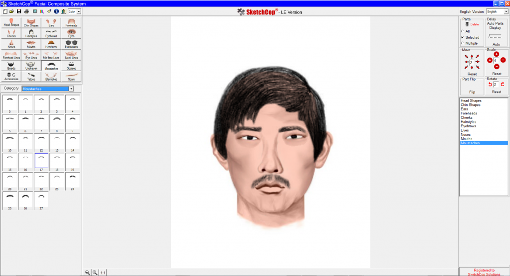 SketchCop® Facial Composite System Software