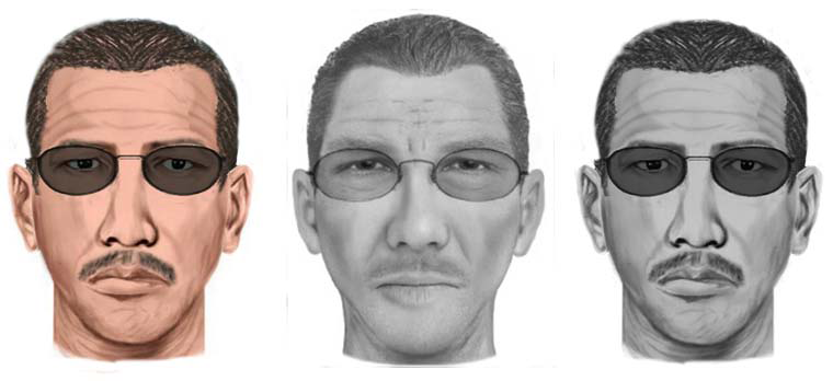 SketchCop® Facial Composite System Sketch-like Images vs. Photo-like Image (Center)